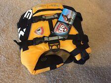 EzyDog Doggy Flotation Device Dog Life Vest Jacket DFD Extra Small XS, yellow