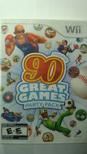 Family Party: 90 Great Games Party Pack (Nintendo Wii, 2010) Sealed