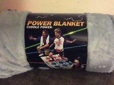 Geek Fuel Exp Nintendo Power Blanket - Very Soft - Never Opened - Exclusive