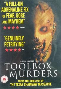 Toolbox Murders DVD 2004 Horror Occult Gore Movie - Tobe Hooper Slasher Film