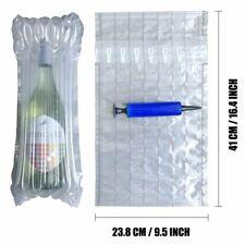 Bottle Protector Inflatable Wine Sleeves Air Cushioning Bag Shockproof Packaging