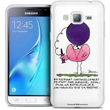 Coque Crystal Pour Samsung Galaxy J3 2016 (J320) Souple Les Shadoks® En Essayant