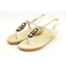 Onex Sidney Women US 5 Gold Thong Sandal Blemish  13678