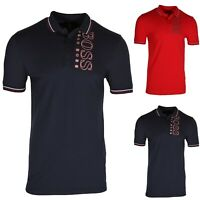 HUGO BOSS Paule Pro Men's Slim Fit Polo Shirt In Cotton Blend 50399315