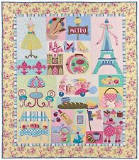 MON AMI BLOCK OF THE MONTH QUILT PATTERN, Applique From The Vintage Spool NEW