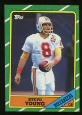 1986 Steve Young Topps Rookie Rc #38 *NICE* Hall Of Fame (1B)