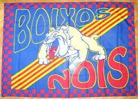 BANDERA FLAG BOIXOS NOIS FC BARCELONA 132x94 ULTRAS DRAPEAU NUEVA !! AZUL  GRANA 6ab088903c9