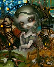 Jasmine Becket-Griffith art print dark sleep fairy SIGNED Unseelie Court: Sloth