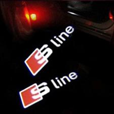 AUDI projecteur LED Logo sline s-line türlicht portière d'entrée lumière s a4 a rs