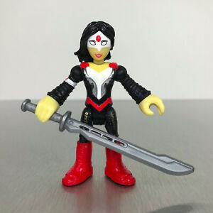 Imaginext DC Super Friends KATANA figure from Suicide Squad w/sword