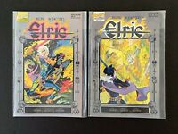 ELRIC THE SAILOR OF THE SEAS OF FATE (#6,7) FIRST COMICS 9.8 NM/MT