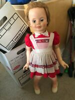 "Vintage 1957 Sayco 33-1/2"" tall playpal type doll"
