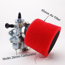Carby Molkt 26mm Carburetor Air Filter For 140 150 160cc Dirt Bike SSR Thumpstar