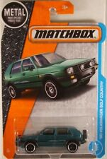 MATCHBOX #4 '90 VW Golf Country 'Montana Green' w/5-spoke wheels - ORIG CARD ART