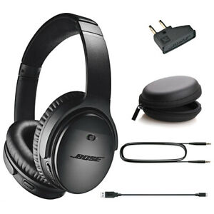 Bose QuietComfort 35 II Wireless Noise-Canceling Headphones QC35 II - Black