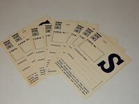 Home Lines Oceanic 1979 Luggage Stickers RARE