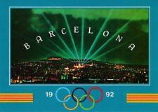 1992 Olympic Games Barcelona, original postcard.