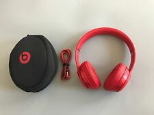Genuine Beats by Dr. Dre SOLO2 Solo 2 Wired On-Ear Headphones - Red