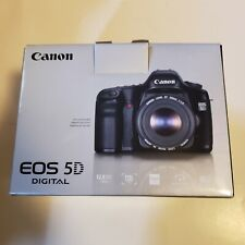 Canon EOS 5D 12.8 MP Digital SLR Camera - Black (Body Only) +