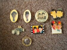 Laurel and Hardy Fridge Magnets, set of 7