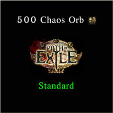 Path of Exile 500 x Chaos Orb PoE Item Standard League Server Softcore SC NA
