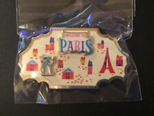 Disney Around the World Member Exclusive Pin Collection - Paris, NEW and Sealed