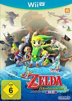 Nintendo Wii U Spiel - The Legend of Zelda: The Wind Waker HD DE/EN mit OVP