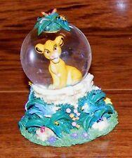 "Walt Disney World The Lion King ""Simba"" 3"" Tall Mini Snowglobe Only"