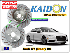 """AUDI A7 disc rotor KAIDON (Rear) type """"BS"""" / """"RS"""" spec"""