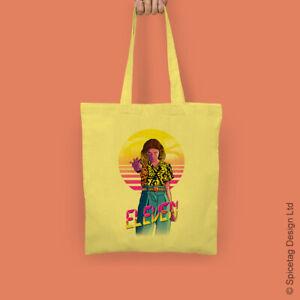 Eleven Tote Bag Mint Starcourt Mall Inspired Shopping Bags 11 El Retro Shopper