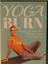 NEW Yoga Burn premium package 4 DVD set workout fitness exercise