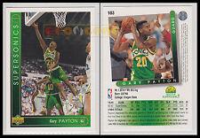 NBA UPPER DECK 1993/94 - Gary Payton # 103 - Supersonics - Ita/Eng - MINT