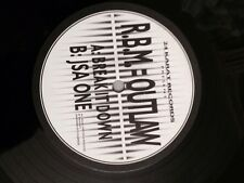 "RBM=Outlaw - Break It Down/JSA One 12"" Vinyl Drum and Bass 24 Karat 97 Jungle"