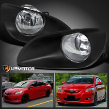 For 2006-2008 Toyota Yaris 4Dr Clear Fog Lights+Switch Kit
