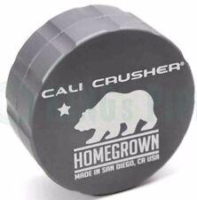 Cali Crusher - Homegrown 2 Piece Herb Grinder - 2.35'' Standard Size - Grey