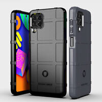 For Samsung Galaxy M62 / F62 Rugged Armor Shockproof Rubber TPU Slim Case Cover