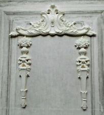 Decorative Molding Set Ornate Style Moldings White