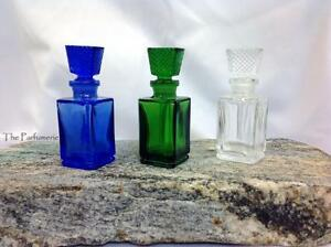Glass Perfume Bottle for Perfume Oil  Attar Oil  10 ml  Empty and Refillable