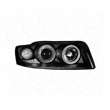 2 x Scheinwerfer LED Audi A4 8E Angel Eyes schwarz 1017568