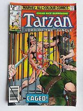 Tarzan Lord Of The Jungle #26 Marvel Comics 1979 Bronze Age