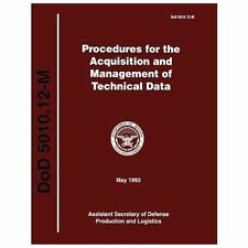 Procedures for the Acquisition and Managment of Technical Data (DoD 5010....