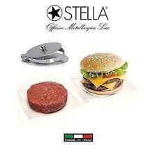 Stella pressacarne per svizzere-Hamburger in acciaio inox (made in Italy )-