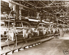 1950 Ford Woody Assembly Line Vintage Woody Photo Kingsford MI Old Woodys