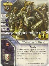 Warhammer Invasion 1x Warriors of Ulric  #106