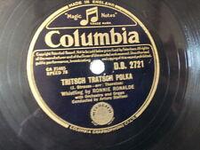 "78 rpm 10"" RONNY RONALDE tritsch tratsch polka / let me"