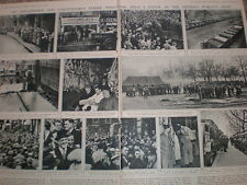 Photo article transport workers strike hits london 1947