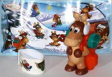 Ü-Ei Maxi Ei - Weihnachts Elche mit Rucksack, BPZ, 2013