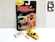 Original Vintage G2 Transformers GEARHEAD clear torso variant 100% complete WOW!