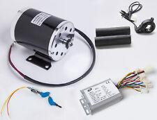 500 W 24 V DC electric motor kit w Reverse Control+Thumb Throttle+Key f Go-Kart