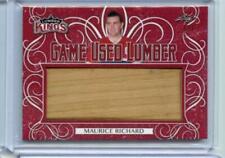 2019-20 Leaf Lumber Kings Game Used Lumber 1/2 Maurice Richard